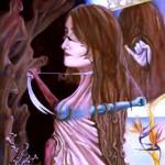 Schizophrenie, Öl auf Leinwand, 2005
