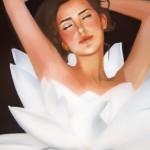 Die Seerose, Öl auf Leinwand, 2005