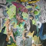Die Pforte zum Maskenball, Öl auf Leinwand, 2006