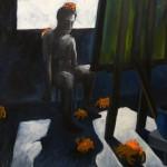 Der Maler, Öl auf Leinwand, 2006