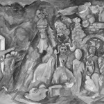 Der alte Kostuemverleiher, Aquarell, 2007