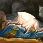 Illusion unter einer Bestrahlungszeit von 31Sekunden, Öl auf Leinwand, 2011
